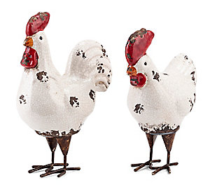 Imax Quinn Roosters (Set of 2), , large