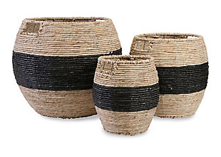 Imax Dorran Woven Baskets (Set of 3), , large