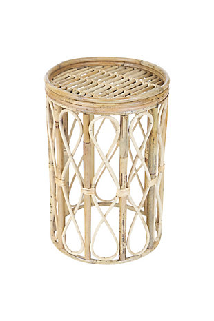 Kalalou Cane Accent Table, , large