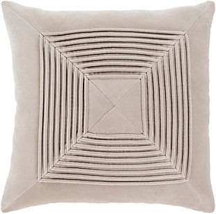 Surya Arcadia Throw Pillow, Brown/Beige, rollover