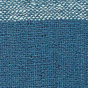 Surya Ryker Throw Blanket, Blue, large