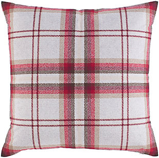 Surya Bella Throw Pillow, Brown/Beige, rollover