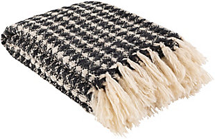 Surya Sadie Throw Blanket, , rollover