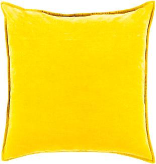 Surya Canyon Lake Throw Pillow, Yellow, large
