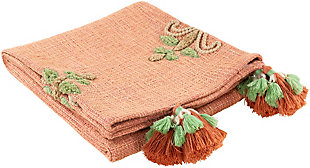 Surya Selma Throw Blanket, , rollover