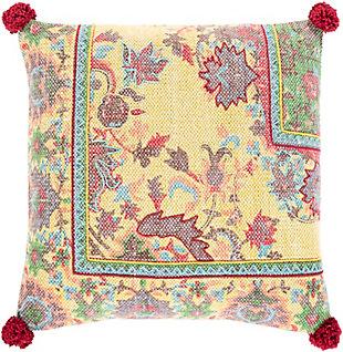 Surya Corona Throw Pillow, , rollover