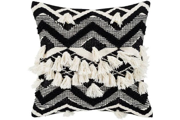 Surya Elise Throw Pillow, , large