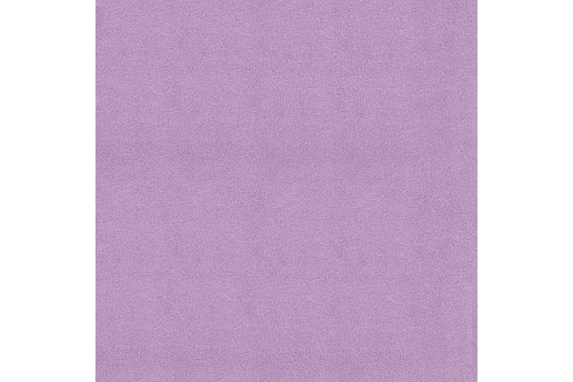 HomePop Diva Juvenile Chaise Lounge, Purple, large