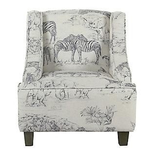 HomePop Jungle Swoop Chair, , rollover