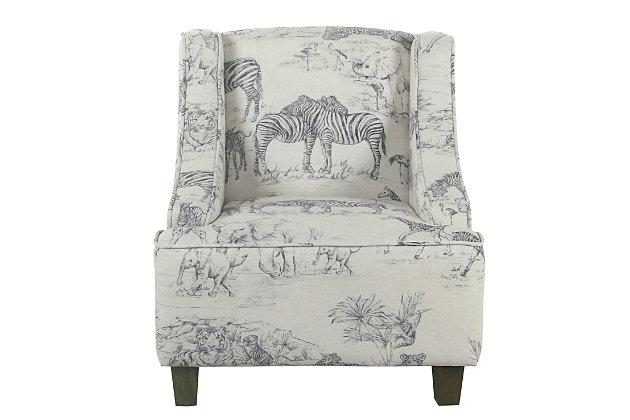 HomePop Jungle Swoop Chair, , large