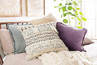 Surya Hermosa Throw Pillow, , rollover