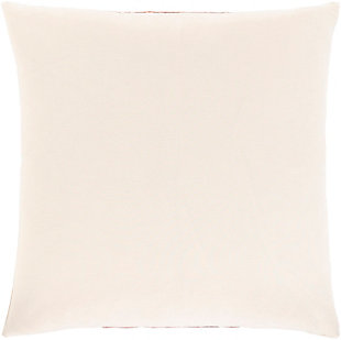Surya Kerman Throw Pillow, Dark Brown/Ivory/Beige, large