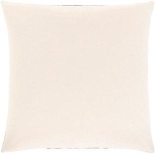 Surya Kerman Throw Pillow, Dark Brown/Ivory/Beige, large