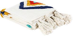 Surya Tucker Throw Blanket, , rollover