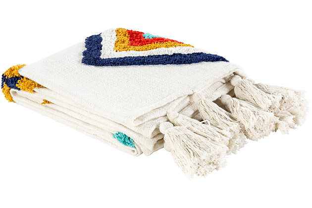 Surya Tucker Throw Blanket, , large