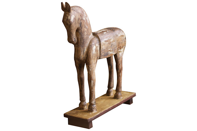 Home Accents Horse Sculpture by Ashley HomeStore, Brown