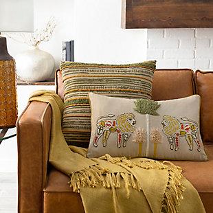 Surya Palo Throw Pillow, , rollover