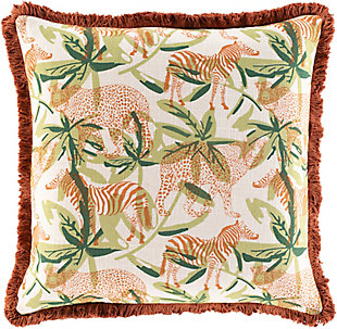 Surya Palo Throw Pillow, , rollover