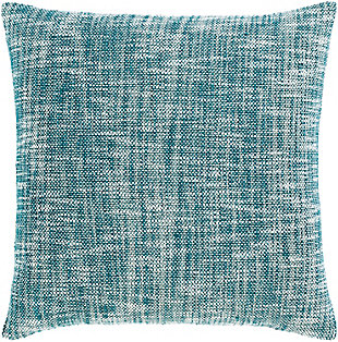Surya Paramount Throw Pillow, Beige/Teal, large