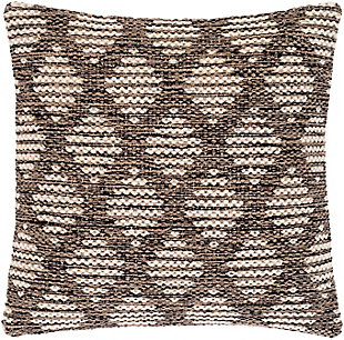 Surya Parker Throw Pillow, , rollover