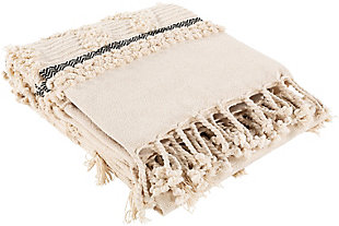 Surya Westmorland Throw Blanket, , rollover