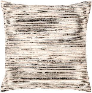 Surya Providence Throw Pillow, Beige/Camel/Black, large