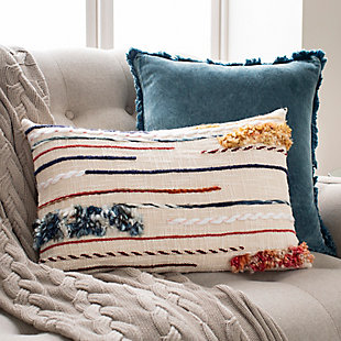 Surya Rancho Throw Pillow, Multi, large
