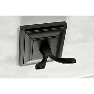 Kingston Brass Serano 5-piece Bathroom Hardware Set, Matte Black, large