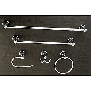 Kingston Brass Mesa Verde 5-piece Bathroom Hardware Set, Polished Chrome, rollover