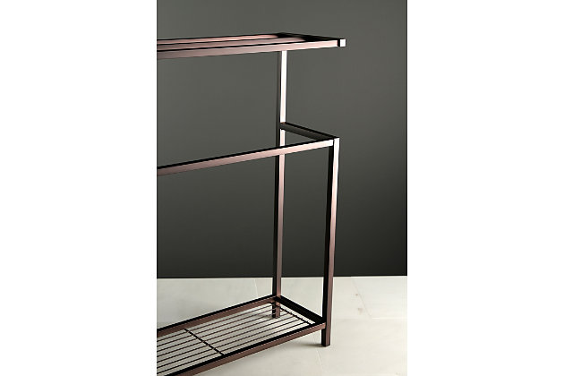 Kingston Brass Edenscape Freestanding Multi Tier Towel Rack Ashley Furniture Homestore
