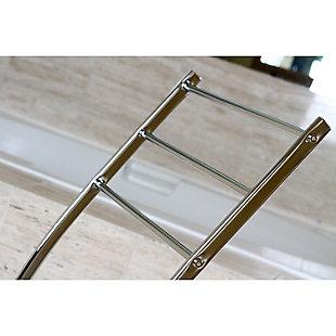 Kingston Brass Edenscape Freestanding Curved Towel Rack, Polished Chrome, large