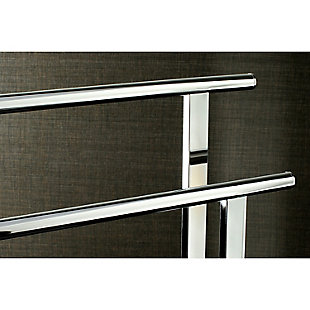 Kingston Brass Edenscape Freestanding Dual Towel Rack, Polished Chrome, large