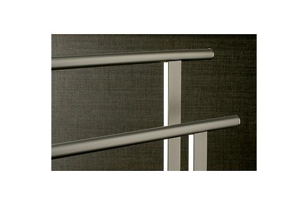 Kingston Brass Edenscape Freestanding Dual Towel Rack, Brushed Nickel, large