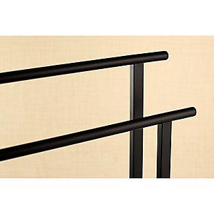 Kingston Brass Edenscape Freestanding Dual Towel Rack, Matte Black, large