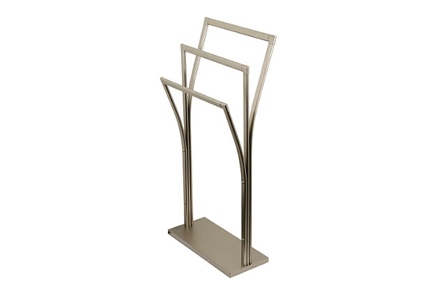 Kingston Brass Edenscape Freestanding Y Style Towel Rack Ashley Furniture Homestore