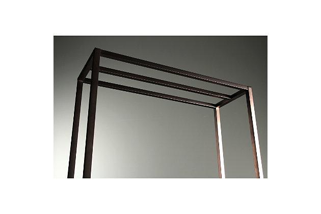 "Kingston Brass Edenscape Freestanding 24"" Towel Rack, Oil Rubbed Bronze, large"