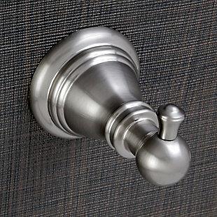 Kingston Brass American Classic 4-piece Bathroom Hardware Set, Brushed Nickel, large