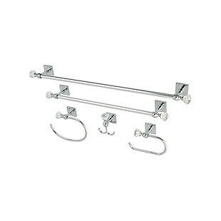 Kingston Brass Celebrity 5-piece Bathroom Hardware Set, Polished Chrome, large
