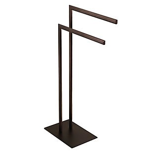 Kingston Brass Edenscape Freestanding Tiered Towel Rack, Oil Rubbed Bronze, rollover