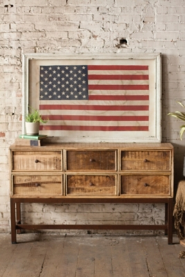 Ashley Accents United States Flag Wall Decor Home