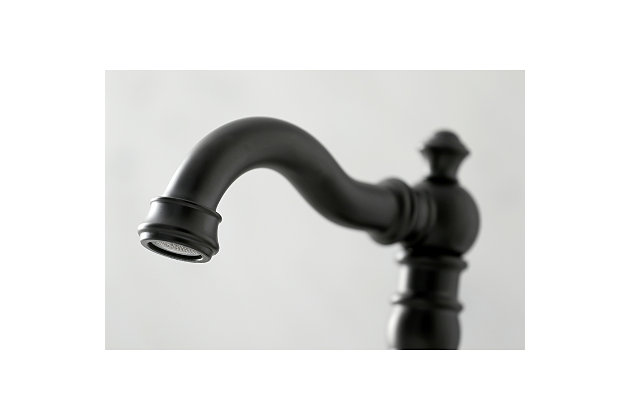 Kingston Brass English Classic Widespread Bathroom Faucet with Drain, , large
