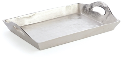 Home Accents Tray by Ashley HomeStore, Silver Finish
