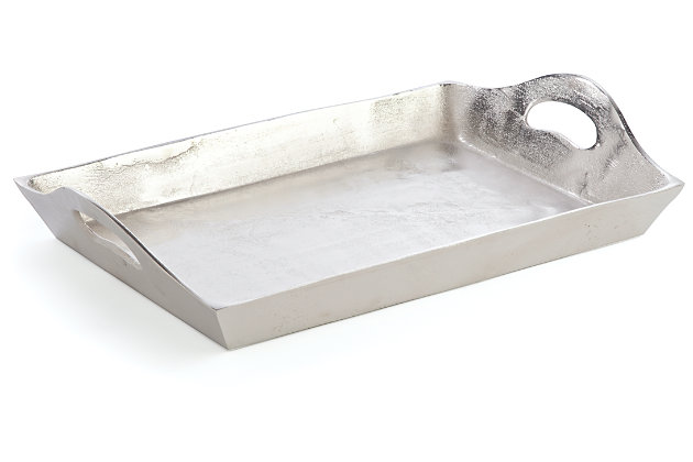 Silver Finish Home Accents Tray by Ashley HomeStore