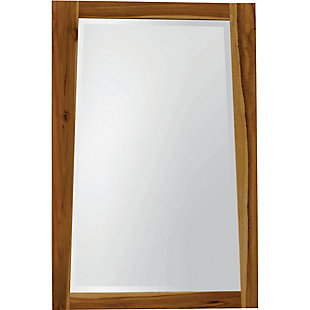 EcoDecors  Significado Teak Wood Wall Mirror, , rollover