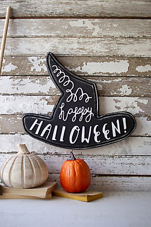 Halloween Happy Halloween Witch Hat, , large