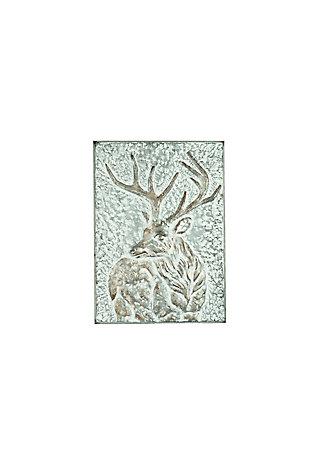 Christmas Metal Deer Wall Panel, , large