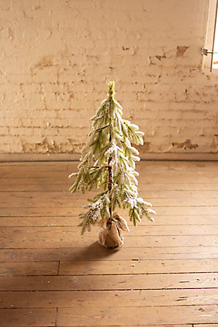 Christmas Artificial Frosted Christmas Tree - Small, , rollover