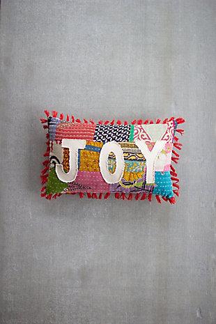 Christmas Christmas Joy - Kantha Pillow, , rollover
