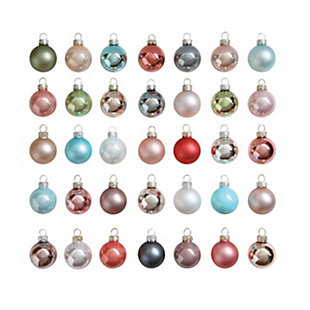 "Christmas 1"" Glass Ball Ornaments (Boxed Set of 54 Pieces), , large"