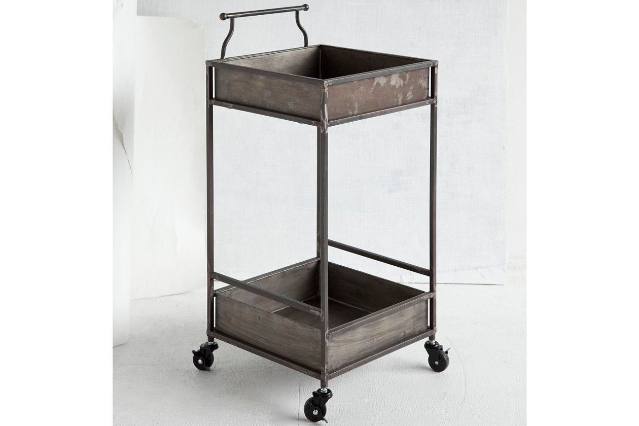 Home Accents Cart | Ashley Furniture HomeStore